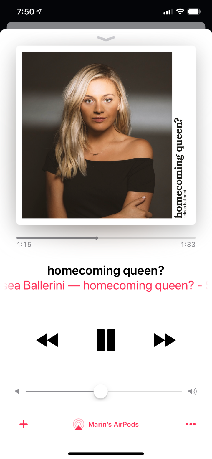 """Even the Homecoming Queen Cries."""